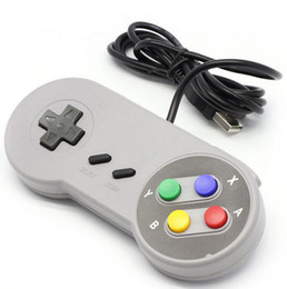 For SNES game controller to PC USB for Windows Newest original port & USB port optional SNES Controller
