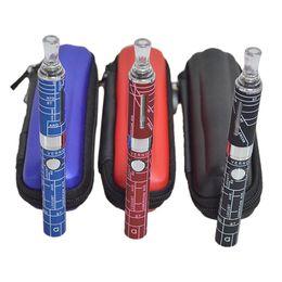 MAP EVOD MT3 Kit with 2.4ml MT3 Atomizer EVOD Battery 650 900 1100mah Electronic Cigarettes in Zipper Case EVOD Zipper Kit 0212041