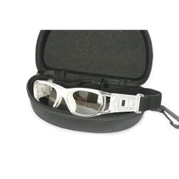 Wholesale 016 luckybirdz New Design RX able Basketball Glasses Soccer Football Baseball Goggles Prescription Sports Eyewear Eye Glass Frames