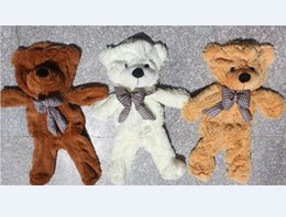 Wholesale cm quot inch Plush Bear Skin Semi finished Teddy bear bearskin Plush Toys Hug the
