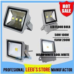 Wholesale x2 LED Flood Wash Light Landscape Projection black Waterproof W W W W V outdoor Led Floodlight Lamp lighting