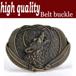 High quality Indian style surface plating copper on howl agio smooth zinc alloy belt buckle buckle under 4.0 cmWT111AB