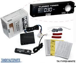 Wholesale High Quality HKS Turbo Timer for car light white other color red blue riginal box TK TYPE0 WHITE