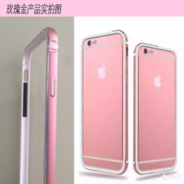 Wholesale Best Iphone6s following Apple metal frame PLUS soft glue a integrated silicone frame