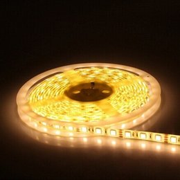 Wholesale Led Lighting 24v Blue - Popular LED strip lights, DC12V-24V or AC110-240V, SMD5050, 60LEDs m, 2 yeas warranty, IP65 CE ROHS ETL standard