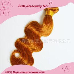 New Arrive Peruvian 27# Brown Body Wave 2015 Free Shipping One Pcs Peruvian Virgin Human Body Wave 7A Peruvian Bundles 52