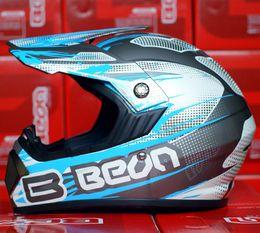 Wholesale-Beon helmet b-600 quality off-road helmet motorcycle off-road helmet white and green blue red