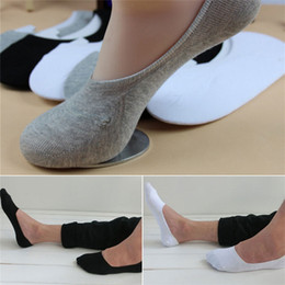 Wholesale New Arrivals Men s Slippers Socks Sox Cotton Blend Soft Casual Invisible No Show PX81