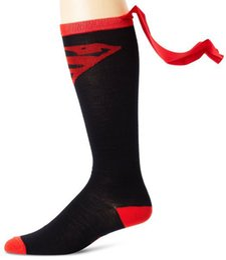 Wholesale 4 colors New Men and women Cloak socks Superman batman wonder woman Socks HX