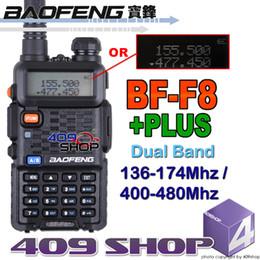 Promotion deux radios bidirectionnelles vente Gros-2015 Date BFF8-PLUS radio à deux voies à double bande Hot vente de radio