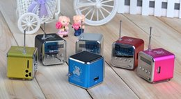 TD-V26 Mini Portable Speaker Micro SD TF Card USB Disk MP3 Music Player Amplifier FM Radio digital speaker best tatar