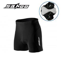 Wholesale SAHOO Mens Cycling Shorts Underwear Quick Dry Breathable Bamboo Fiber MTB Mountain Road Bike Shorts D Pad Under Clothing