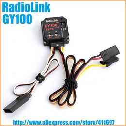 Wholesale Radiolink AVCS Rate Gyro GY100 MEMS for Helicopter Work with Futaba S9257 order lt no track
