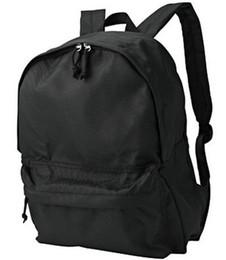 Emballer gros sac à dos noir-concepteur de sac à dos de qualité Muji Marque journée sac à dos étanche black day packs for sale à partir de sacs de jour noir fournisseurs