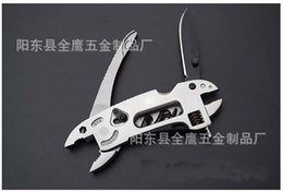 Wholesale Best price Adjustable Wrench Jaw Screwdriver Pliers Multi Tool Set Survival Gear