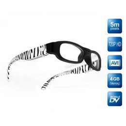 free shipping 4GB HD 720P Sunglasses Video Camera 5MP Spy HD Eyewear Camera