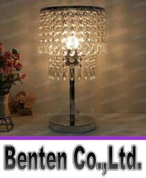 Wholesale Lamp lighting fashion brief modern s crysta desk lamp bedroom table lamps LLFA4795F
