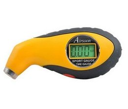 Wholesale free delivery High quality tire gauge Digital LCD Tyre auto Tire Pressure Gauge PSI Kpa Bar Tire gauge for Car