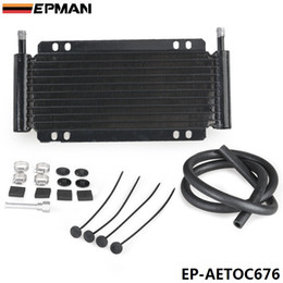 Wholesale EPMAN Racing Car x x in Automatic Transmission Plate Fin Fluid Cooler Kit EP AETOC676