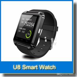Nouvelle u8 bluetooth montre-bracelet à puce en Ligne-Nouveau U8 Bluetooth Wrist Smart Watch Phone Mate pour IOS Android iPhone Samsung HTC Sony etc