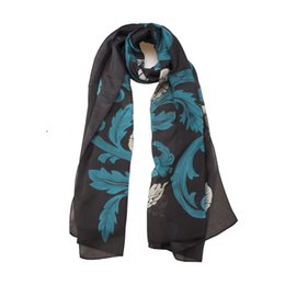 new fashion women high quality Silk scarf big size 90*200 Holiday shawl Factory wholesale price