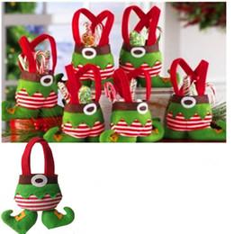 Popular Christmas gifts Christmas candy bag fairy elf design for Christmas gift bag Christmas decorations Elves bag candy bag Christmas gift