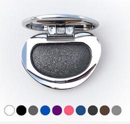 Wholesale Diamond Single Baked Eye Shadow Powder Makeup Palette in Shimmer Metallic Glitter Cream Eyeshadow Palette