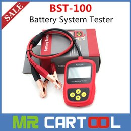 Wholesale 2015 Hot Selling Professional Car Battery Tester BST100 Battery Analyzer BST better than launch bst460 World