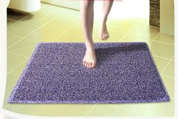 Wholesale Top Selling Showering Room Doormats Floor Protect PVC Pad Matting Carpets Area Rugs Bath Room Mat Covers