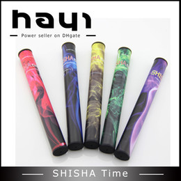 HOT Disposable Shisha Time Pens Pipes Shi Sha eHookah e-hookah Huge Vapor Up to 500puffs Various Flavors DHL Free