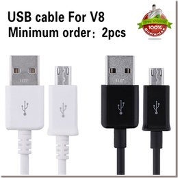 Wholesale Micro USB Cable Mobile Phone Charging Cable CM USB2 Data sync Charger Cable for Samsung galaxy S3 S4 S5 HTC Android Phone