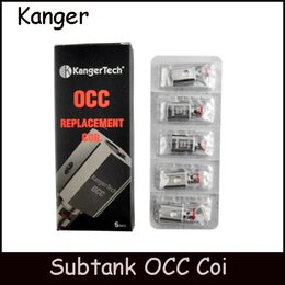 2016 Kanger Vertical Subtank OCC Coil Upgraded 0.2 0.5 1.2 1.5ohm Replacement Coil fit Kangertech Subtank Mini Nano Plus Atomizers