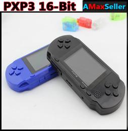 Portable PXP3 16 bits de 2,55 pouces ordinateur de Poche Joueur de Jeu Vidéo de Poche à écran LCD Joueurs de jeu le Système de la Console de Jeux RW-PXP3 pour l'Enfant des cadeaux pas Cher à partir de jeux vidéo bon marché fournisseurs