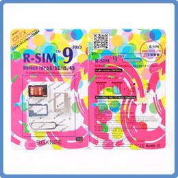 RSIM R SIM 9 PRO Perfect SIM Card Unlock Official IOS 7.0-7.X for iphone 4S 5 5S 5C GSM CDMA WCDMA