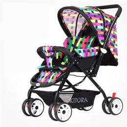 Wholesale Baby jogger By board double wheel Baby stroller playright folding light bb wheelbarrow shock absorbers baby car biest