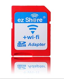 Wholesale 2016 ezshare EZ share micro sd card adapter wifi wireless hot sale TF MicroSD adapter WiFi SD card free ride from memorygeek