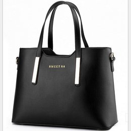 Wholesale-2015 British Style women handbags High Quality Casual Brief Fashion Zipper Woman Shoulder Bags Pu Leather Handbags 7.27-282