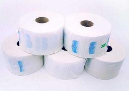 Barber Salon Professional - Waterproof Neck Paper Rolls (5 x 100 Strips in Pack)