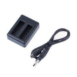 Compra Online Usb gopro-Nuevo arrive Gopro héroe 4 usb cargador de batería dual para Gopro Hero4 HD cámara de la batería ZM00099