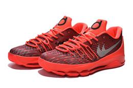 Kd chaussures de vente mens en Ligne-nouveau Kevin Durant 8 Chaussures KD VIII grand garçon et les femmes de basket-ball Chaussures Hommes pas cher meilleur Chaussures de basket kd 8 Chaussures confortables en vente