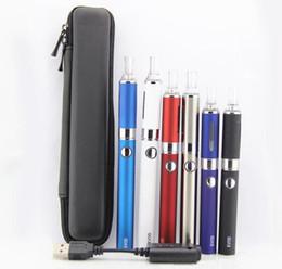 EVOD MT3 single starter zipper case kit electronic cigarette kits e cigs MT3 atomizer 650mah 900mah 1100mah battery vapor vaporizer ego