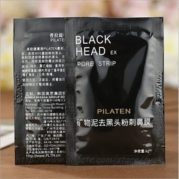 2017 HOT PILATEN Facial Minerals Conk Nose Blackhead Remover Mask Pore Cleanser Nose Black Head EX Pore Strip Free Shipping by DHL