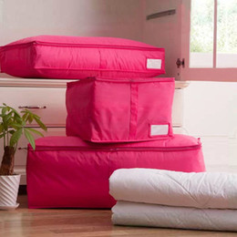 Wholesale Home Storage Supply Clothing Storage Boxes Colors Polyester Quilts Sorting Pouch Underwear Socks Organizer Bags Bins