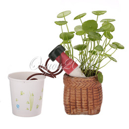 Wholesale 20PCS Self watering Automatic Drip Watering System Tender Seepage Control Waterer Spike Indoor Houseplant Plant order lt no tr