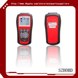 Wholesale Code Reader Autel AutoLink AL619 AL OBDII CAN ABS And SRS Scan Tool CAN OBDII DIAGNOSTIC TOOL Update Online Original DHL free