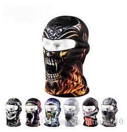 Wholesale 22 colors New Toe Box Dropshipping Unisex Full Face Mask Cover Hat Cap Neck Guard Ski Cycling Balaclava Headwear mask LJJC1248