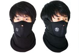 Wholesale 1 Neck Warmers Balaclava CS Hat Headgear Face Neoprene Mask Winter Windproof Motorcycle Bike Scarf
