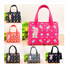 Wholesale 2015 new colors Dot Pattern Mother Baby Products Shoulder Bag Waterproof canvas fabric Large Capacity storage diaper bags backpacks R00981