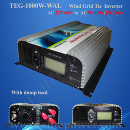 New inverter 1000W on grid tie power inverter, inverter supply wholesale wind system generator 1000W,ac to ac wind grid tie inverter