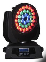 HOT 36*18w led moving head zoom wash light RGBWY+UV 6in1 zoom led wash moving head light stage night club disco bar lighting